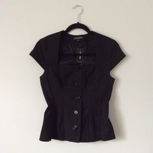 NWT Fitted Button-up Top | Express Design Studio